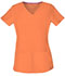 Photograph of Break on Through Women's Shaped V-Neck Top Orange 20710-ORNH