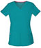 Photograph of Break on Through Women's Shaped V-Neck Top Blue 20710-TEAH