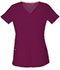 Photograph of Break on Through Women Shaped V-Neck Top Red 20710-WINH