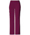 Photograph of Cherokee Flexibles Women\'s Mid Rise Knit Waist Pull-On Pant Red 2085P-WNEB
