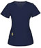 Photograph of Head Over Heels Women's V-Neck Top Blue 20971A-NAYH