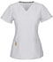 Photograph of Head Over Heels Women's Wrapped Up V-Neck Top White 20971A-WHIH