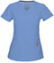 Photograph of Head Over Heels Women's Beloved V-Neck Top Blue 20972A-CIE