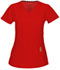 Photograph of Head Over Heels Women's V-Neck Top Red 20972A-RDHH