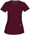 Photograph of Head Over Heels Women's V-Neck Top Red 20972A-WIN