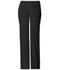 Photograph of Luxe Women Low Rise Flare Leg Drawstring Cargo Pant Black 21100-BLKV