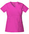 Photograph of Cherokee Luxe Women's Mock Wrap Top Pink 21701-PVIV