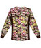 Photograph of Flexibles Women's Zip Front Knit Panel Warm-Up Jacket Camo Flora 2315C-CAFO