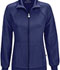 Photograph of Infinity Women's Zip Front Warm-Up Jacket Blue 2391A-NYPS