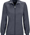 Photograph of Infinity Women Zip Front Jacket Gray 2391A-PWPS