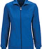 Photograph of Infinity Women's Zip Front Warm-Up Jacket Blue 2391A-RYPS