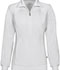 Photograph of Infinity Women's Zip Front Warm-Up Jacket White 2391A-WTPS