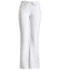 Photograph of WW Core Stretch Women's Low Rise Moderate Flare Drawstring Pant White 24002P-WHTW