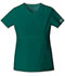 Photograph of WW Core Stretch Women's V-Neck Top Green 24703-HUNW