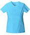 Photograph of WW Core Stretch Women's V-Neck Top Blue 24703-TRQW