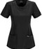 Photograph of Infinity Women's Round Neck Top Black 2624A-BAPS