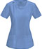 Photograph of Infinity Women's Round Neck Top Blue 2624A-CIPS
