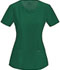 Photograph of Infinity Women Round Neck Top Green 2624A-HNPS