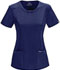 Photograph of Infinity Women Round Neck Top Blue 2624A-NYPS