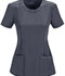 Photograph of Infinity Women Round Neck Top Gray 2624A-PWPS