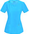 Photograph of Infinity Women Round Neck Top Blue 2624A-TRQ