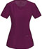 Photograph of Infinity by Cherokee Women's Round Neck Top Red 2624A-WNPS