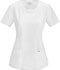 Photograph of Cherokee Infinity Women's Round Neck Top White 2624A-WTPS