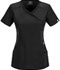 Photograph of Infinity by Cherokee Women's Mock Wrap Top Black 2625A-BAPS
