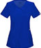 Photograph of Infinity by Cherokee Women's Mock Wrap Top Blue 2625A-GAB