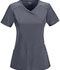 Photograph of Infinity Women's Mock Wrap Top Gray 2625A-PWPS