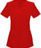 Photograph of Infinity Women's Mock Wrap Top Red 2625A-RED