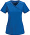 Photograph of Infinity Women's Mock Wrap Top Blue 2625A-RYPS
