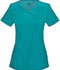 Photograph of Infinity Women's Mock Wrap Top Blue 2625A-TLPS