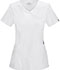 Photograph of Cherokee Infinity Women's Mock Wrap Top White 2625A-WTPS