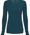 Photograph of Infinity Women's Long Sleeve Underscrub Knit Tee Blue 2626A-CAPS