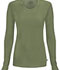 Photograph of Infinity Women Long Sleeve Underscrub Knit Tee Green 2626A-OLPS