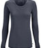 Photograph of Infinity Women Long Sleeve Underscrub Knit Tee Gray 2626A-PWPS