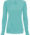 Photograph of Infinity Women Long Sleeve Underscrub Knit Tee Blue 2626A-TQCH