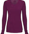 Photograph of Infinity Women's Long Sleeve Underscrub Knit Tee Red 2626A-WNPS