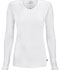 Photograph of Infinity Women's Long Sleeve Underscrub Knit Tee White 2626A-WTPS