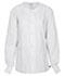 Photograph of WW Flex Unisex Unisex Snap Front Warm-up Jacket White 34350A-WHTW
