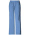 Photograph of WW Core Stretch Women's Mid Rise Pull-On Pant Cargo Pant Blue 4005-CIEW