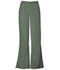Photograph of WW Originals Women\'s Natural Rise Flare Leg Drawstring Pant Green 4101T-OLVW