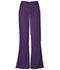 Photograph of WW Originals Women\'s Natural Rise Flare Leg Drawstring Pant Purple 4101-EGGW