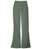 Photograph of WW Originals Women\'s Natural Rise Flare Leg Drawstring Pant Green 4101-OLVW