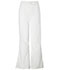 Photograph of WW Originals Women's Natural Rise Flare Leg Drawstring Pant White 4101-WHTW