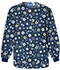 Photograph of Cherokee Prints Women's Snap Front Warm-Up Jacket Blue 4350C-DWON
