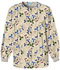 Photograph of Cherokee Prints Women's Snap Front Warm-Up Jacket Khaki 4350-CPRK
