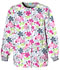 Photograph of Cherokee Prints Women's Snap Front Warm-Up Jacket White 4350-SVAL