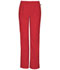 Photograph of Workwear WW Flex Women Mid Rise Straight Leg Elastic Waist Pant Red 44200AT-REDW
